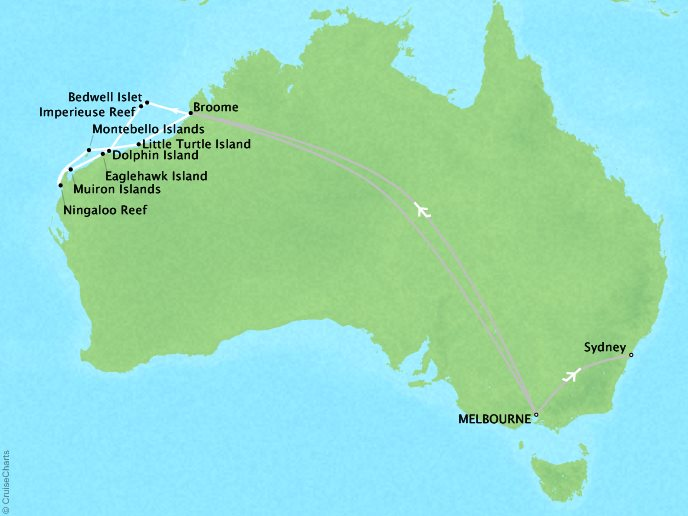 Australia Underwater Map.Virtuoso Zegrahm Expeditions Underwater Wonders Of Western Australia